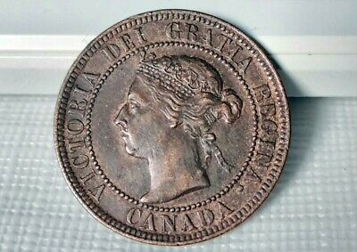 1897 Canada Large 1 One Cent  Coin