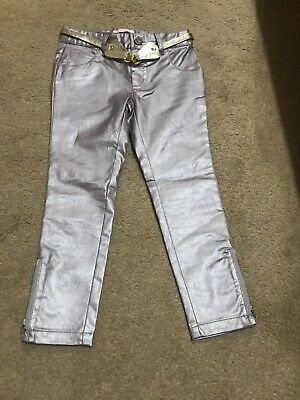 Matthew Williamson Trousers. Pink Metallic Trousers. Girls Trousers. Age 4