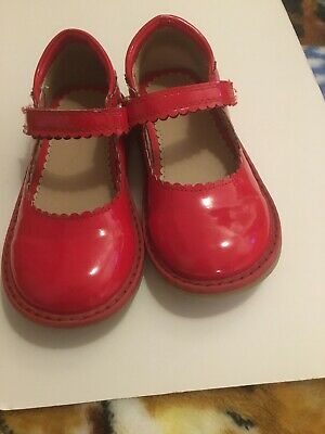 Girls Red Shoes Size 8