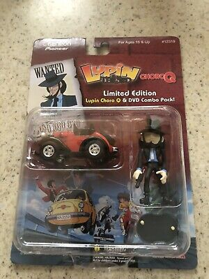 lupin the third geneon pioneer toy-NO DVD Just Toy-ALL SALES ARE FINAL