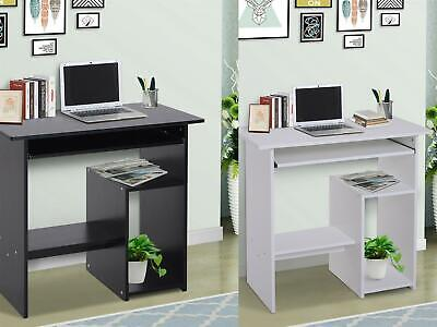 Computer Desk Wooden Writing Study Work Station Storage Home Office NEW