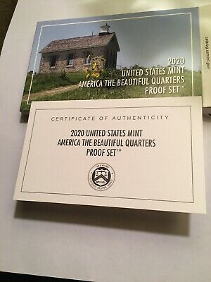 2020 S America the Beautiful Quarter ATB clad Set w//o coa from US Mint 20AP
