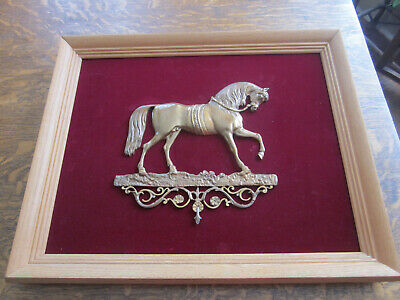 Exceptional 19th Century Bas Relief /plaque Of A Horse