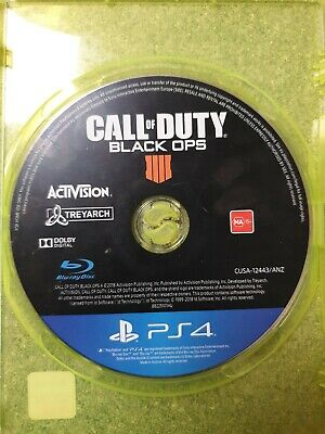 Call of Duty Black Ops 4 PS4 Playstation 4 (Pre-owned)