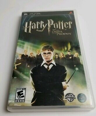 Harry Potter and the Order of the Phoenix (Sony PSP, 2007) Complete!