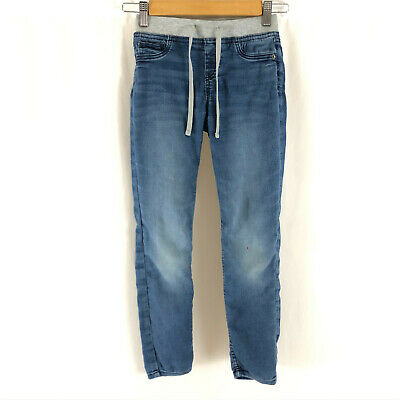 Justice Girls Jeans Jegging Mid Rise Knit Waist Medium Wash Size 10