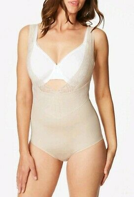 RRP £38 M/&S BLACK Firm Control Magicwear Wear Your Own Bra Body