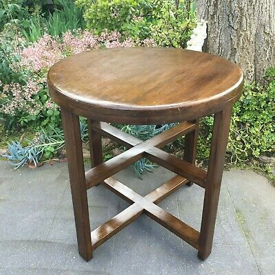 Antique Round Side / Lamp / Occasional Table!