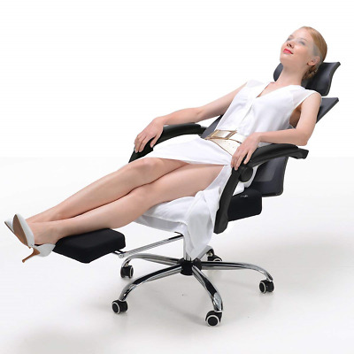 Hbada Ergonomic Office Recliner Chair - High-Back Desk Chair Racing Style with -