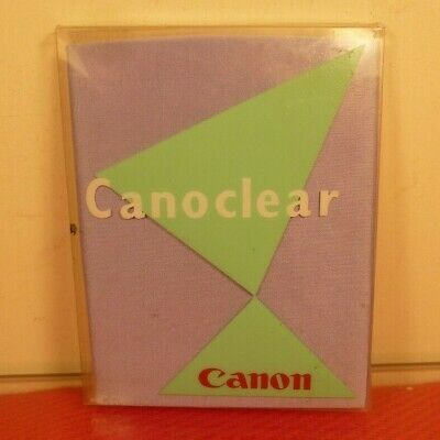 CANOCLEAR Genuine Canon Micro Fibre Lens cleaning Cloth