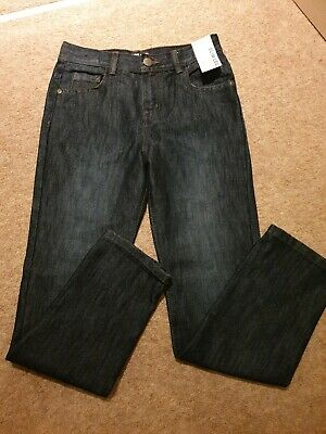 Boys Jeans. Slim Leg. Age 11- 146cm Dark Wash DenimNEW Peacocks