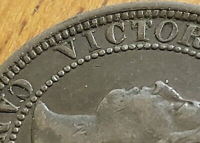 Canada 1881-H One Cent F+ DDO OBV *** Check It Out!!  KM# 7  #AA096-6