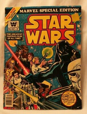 1977 Marvel Star Wars Special Edition Gigantic  Issue #2 Comic Book Very Good