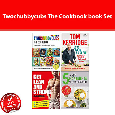 Twochubbycubs The Cookbook, Lose Weight & Get Fit, Get Lean And Strong books Set