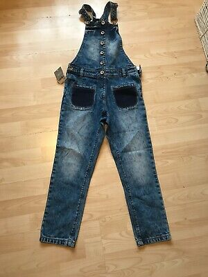 Girls Dungarees Feom Next BNWT Age 9 Years