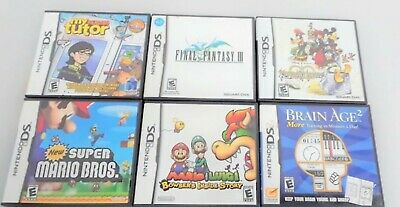 NIntendo ds games you choose your game/games