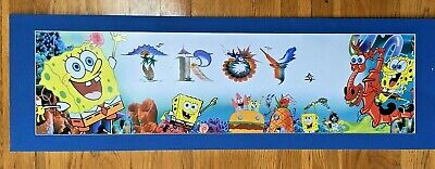 Personalized The Emoji Movie Name Poster with Border Mat Art Wall Decor Banner