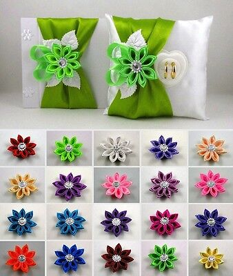 Guestbook + Ringpillow New Colour Selection Box for Wedding Ring Kit