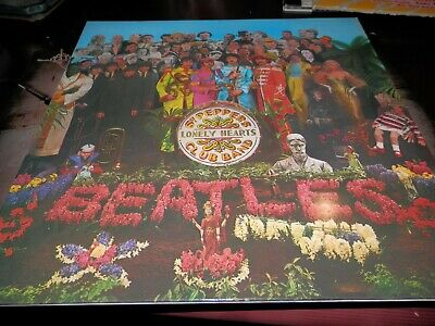 The Beatles - Sgt. Peppers Lonely Hearts Club Band (Promo Vinyl Album)