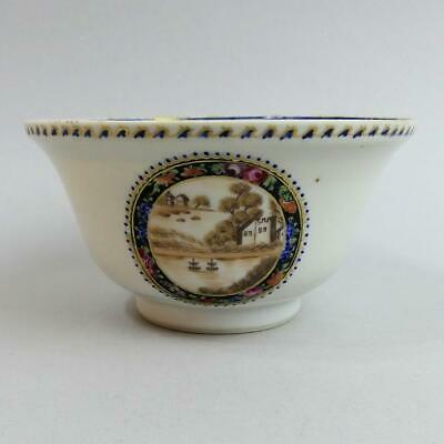 Antique Chinese Hand Painted Porcelain Bowl C.1750