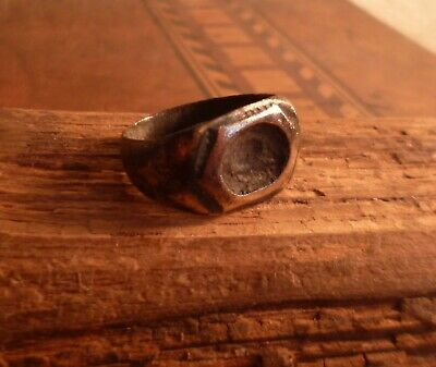Beautiful Ancient Roman Bronze Fashioned Ring-Metal Detecting Find