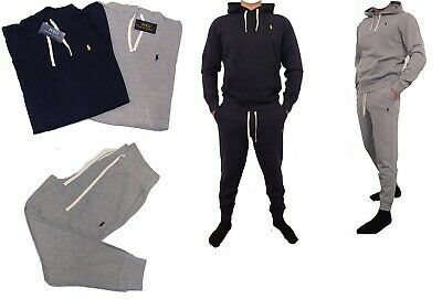 Polo Ralph Lauren Mens Fleece Tracksuit Jogging Bottoms Joggers and Hoodie Jumpe