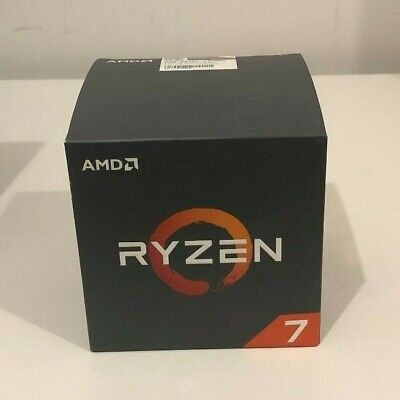 AMD Ryzen 7 2700X 8 Core, 16 Thread Processor With Wraith Prism LED Cooler - New