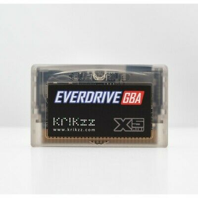 KRIKzz Everdrive GBA X5 Nintendo Gameboy Advance + OFFICIAL Storage Box