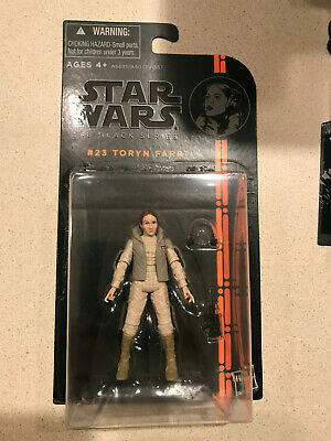 Hasbro Star Wars 3.75 Black Series Toryn Farr Figure MOC