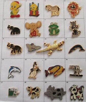 Different Character Comics Film Animal Or Else Pin (Your Choice) # G715