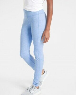 Athleta Girl L/12 Snowball Tights Icelandic Blue Heather