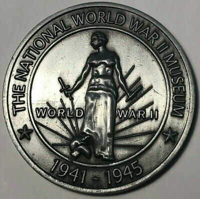 WWII WW2 German Evil banker coin 1939 silver finish