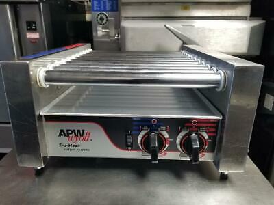 APW Wyott HR-20 Hot Dog Roller Chrome surface Grill / Cooker