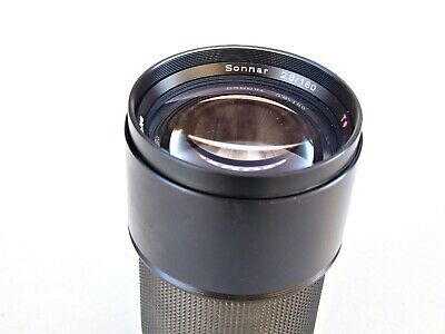 Contax Carl Zeiss Sonnar 180mm F2.8 T* W Germany Lens