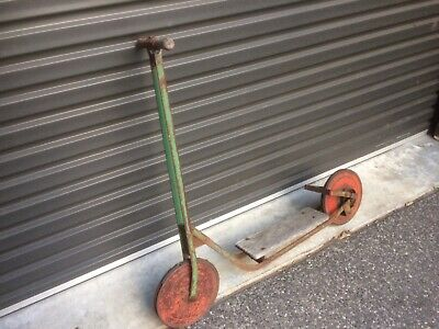 Classic Rustic looking scooter. Great garden ornament or collectable.