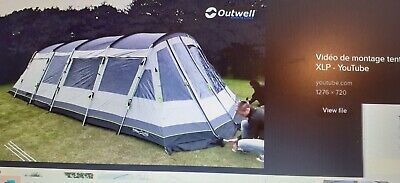 TENT OUTWELL 7 Man £380.00 | PicClick UK