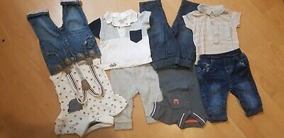 Boys Jeans And Top Bundle 0-3