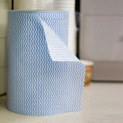 Industrial Kitchen Grade Perforated Blue Chux Cleaning Roll Wipes Bulk Food