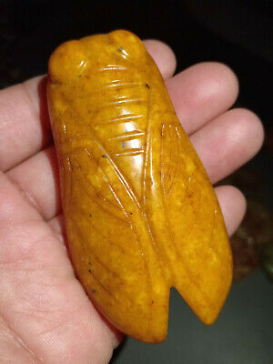 Old China Hand-carved jade Nobility wear amulets Pendant collect~zhiliao