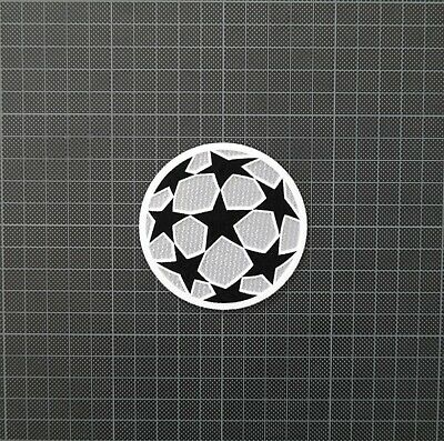 UEFA Champions League Starball Football Patches/Badges 2000-2001 Silver