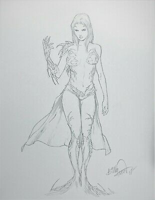 Witchblade Original Comic Art Commission by Billy Tan Image Comics