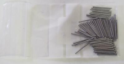 Clock Steel Pins No 4 0.65mm to 1.10mm Tampering Clock Pins Steel Clock Pins