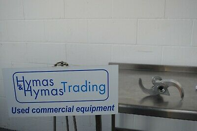 Cutter blades + shaft Stephan Hobart HCM VCM bowl cutter, more parts available