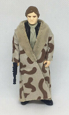 HAN SOLO- STAR WARS Vintage: HAN SOLO in Trenchcoat - COMPLETE 1983