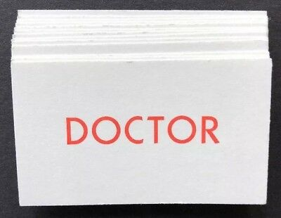 +Operation Board Game Doctor Cards Replacement Pieces Parts 13 Cards Full Set