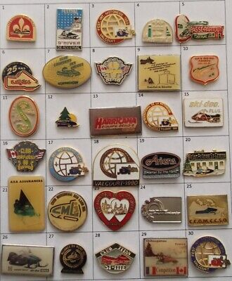 Different Snowmobile Motoneige Skidoo Club Or Else Pin (Your Choice) # G720