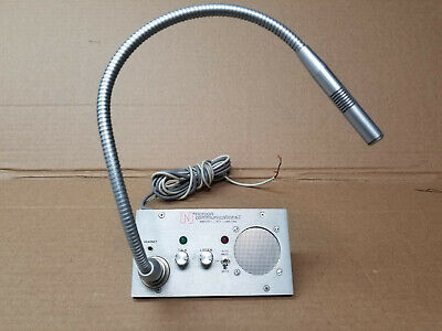 Norcon Hands free TTU-7 booth mic 30 day Warranty