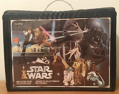 Vintage STAR WARS 24 Figure CARRY CASE - English & French 1977 - 'Very Nice!'