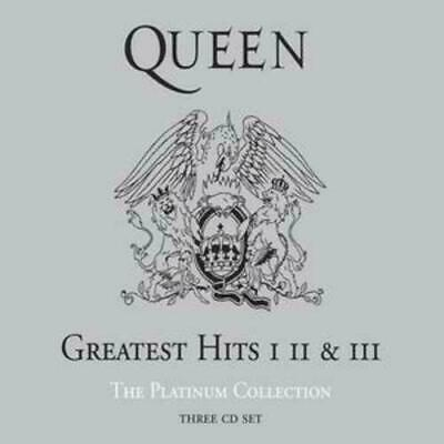 QUEEN - THE PLATINUM COLLECTION 3CD SET (Greatest Hits 1,2,3)