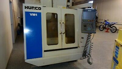 Used 2005 Hurco VM-1 CNC Vertical Machining Center 30x16 Mill Machine CT40 Auger